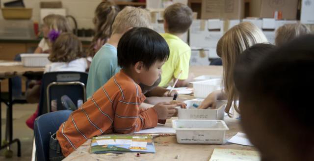 Kindergarten after school program